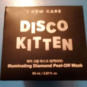Disco Kitten Illuminating Diamind peel-off mask